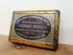 Army & Navy Co-operative No. 8 Sporting Dept, Fishing Tackle, Jahnkes Patent Box