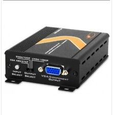 atlona composite/s-video to component/vga scaler/converter