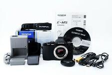 Olympus OM-D E-M5 16.1MP Mirrorless Digital Camera Body Accessories perfect