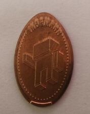 1 x Elongated Coin - INDEMANN - Souvenirmünze - Quetschmünze