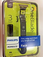 Philips Norelco OneBlade Men's New Electric Shaver/Razor/Face Trimmer QP2520