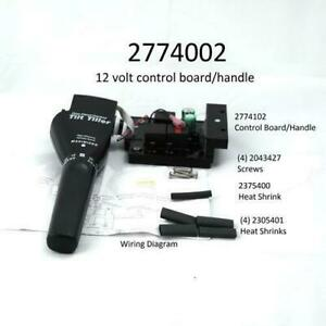 New Minn Kota Maxxum or Riptide 12V Hand Control Board #2774002