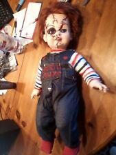 "CHUCKY DOLL CHILDS PLAY PLASTIC 25"" DOLL ZOMBIE PROP HALLOWEEN PROP ORIGINAL"