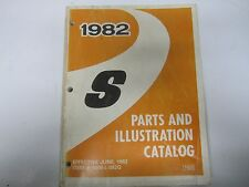82 Chevrolet S10 Blazer S-Series Truck Parts and Illustration Catalog 1982 USED