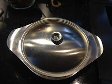 Viners 18/8 Stainless Steel Lidded Tureen With A Removable Divider