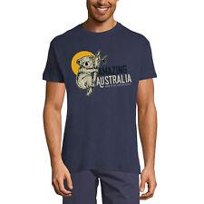 ULTRABASIC Homme T-shirt L'étonnant koala Coucher de soleil en Australie