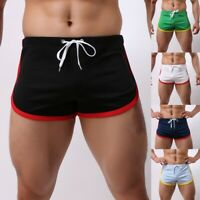 Running Men's HOT Summer Sports Shorts Fast-Drying Casual Flatpants Lace Shorts