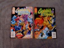 Marvel Comics Gambit and the X-ternals Lot of 2 Comic Books - May, June 1995