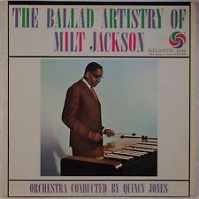MILT JACKSON: Ballad Artistry Of ATLANTIC1342 Jazz ORIG Mono VG++ Vinyl LP