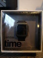 Pebble Time Smartwatch - grey/black