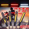 4PCS 24 LED Moto LED Continu Écoulement Indicateur Clignotant+DRL+Lumière stop