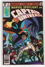Marvel Spotlight (Volume 2) #9 Captain Universe 9.4