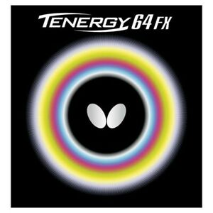 Butterfly Tenergy 64 FX table tennis rubber, 2.1mm, Black