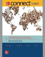 Connect 1-Semester Access Card for International Business by Michael Geringer