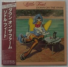 LITTLE FEAT - Down On The Farm REMASTERED JAPAN MINI LP CD NEU! WPCR-12621