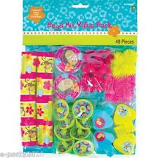 PINK MOD MONKEY LOVE FAVOR KIT (48pc) ~ Birthday Party Supplies Toys Prizes