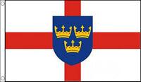 EAST ANGLIA FLAG 5' x 3' England English County Norfolk Suffolk Counties