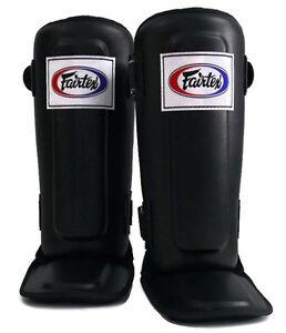 Fairtex Shin pads SP3 In Step Double Padded  Muay Thai Boxing MMA Shin Protector