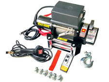 TREUIL ELECTRIQUE 12V 2721KG 3300W, TREUIL A CABLE LONGUEUR 20M Ø7.2MM