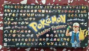 Pokemon Master Trainer Board Game 1999 Complete