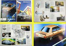 2 Prospekte Renault 9 TXE neun aus den 80er Jahren + Preisliste März 1986