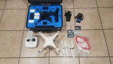 DJI Phantom 3 Professional Pro 4K Drone, 4 Batteries, Hard Case, Extras