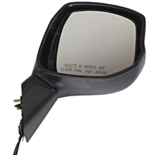 Fits 12-13 Civic Right Passenger Mirror Power Non-Painted Black No Heat, Signal