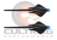 2014-2018 C7 Corvette Genuine GM Carbon Flash Stingray Fender Emblems Set Of 2