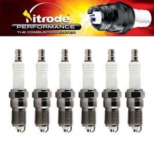 Nitrode Premium Car Spark Plugs for Chevrolet 05-09 Uplander Set of 6 - SP-NP20