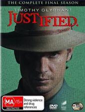 Justified : Season 6 (DVD, 3-Disc Set) NEW