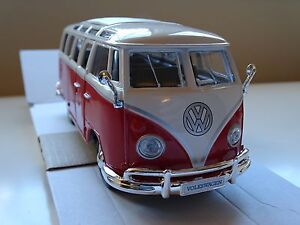 1/25 Volkswagen VW Transporter T2 Split Screen Hippie Wagen Canvas Roof Camper