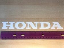 2X HONDA 9'' LOGO stickers vinyl decal autocollants sticker