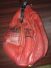 Everlast Genuine Leather Speed Bag 4214 Gyro Balanced Champions Punching Bag B13
