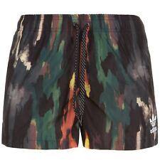 adidas ORIGINALS PHARRELL WILLIAMS DOODLE SHORTS BLACK GREEN ORANGE UNISEX NEW
