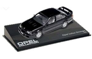 OPEL LOTUS OMEGA / VAUXHALL LOTUS CARLTON model cars black & green 1989-92 1:43