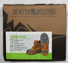 Winter Walking Spare Spike Ice Cleats Large Slip Over Shoes