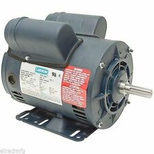 Leeson Electric Motor 116523.00 5 HP 3450 Rpm Single Phase 208-230 5 hp