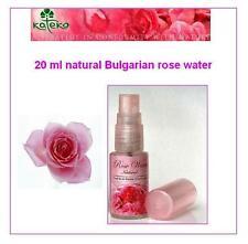 Rose Water Spray Cleanser Toner 100 % Natural Pure Bulgarian Rose 20 ml
