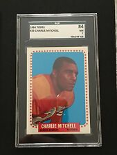 1965 TOPPS #55 CHARLIE MITCHELL *SGC GRADED NM 7 ** BRONCOS *KGF-5419