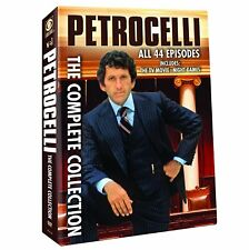 Petrocelli Complete TV Series Collection Season 1-2 (44 Episodes) NEW DVD SET