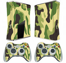 Army Green 030 Vinyl Decal Skin Sticker for Xbox360 slim and 2 controller skins