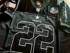 Brand New Dallas Cowboys #22 Emmitt Smith Black 2patch stitched Jersey M Free SH