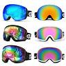 Ski Goggles Double Anti Fog Lenses 400 UV Protection For men women kids Skiing