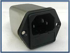 FILTRO RETE ANTIDISTURBO SCHAFFNER FN9260-1-06 250 Vac 1 AMPER PORTAFUSIBILE