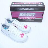 Skechers Synergy Elite Status 11798 White Athletic Shoes Size 6.5-8.5
