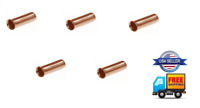 5pcs 8 Gauge Non-Insulated High Temperature Wire Ferrules Amplifier 8 AWG Amp