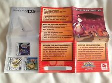 POKEMON MYSTERY DUNGEON RED RESCUE TEAM Nintendo Game Boy Advance GBA VIP POINTS