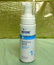 GALDERMA BENZAC ACNE SOLUTIONS Skin Balancing Foaming Cleanser 6oz Bottle Step 1