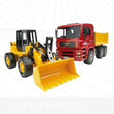 Bruder Construction Truck With Articulated Loader Fiat FR130 02752