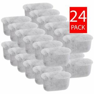(24) Replacement Charcoal Water Filters Fits ALL BRAUN Coffee Makers, BRSC004
